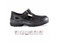 Sandale de protectie cu bombeu metalic TORRE