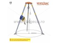 Troliu RUP-502 cu 25 m cablu