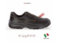 Pantofi de protectie cu bombeu metalic si lamela antiperforatie SAFARI S1P  4401-35