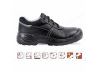 Pantofi de protectie cu bombeu metalic si lamela antiperforatie, WORKTEC S3 2007 S3-35