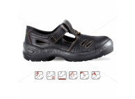 Sandale de protectie cu bombeu metalic TORRE 4117 S1-43