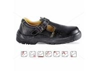 Sandale de protectie cu bombeu metalic YANTAI 4118 S1-P-35