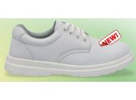 Pantofi de protectie alb cu bombeu metalic BELLE S1 2901-44