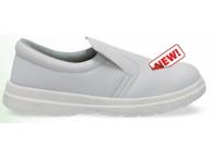 Pantofi de protectie alb cu bombeu metalic DALE S1 2902-44