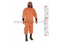 Compleu de protectie impermeabil cu cizme incorporate OVERALL 580-38