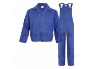 Costum salopeta cu pieptar MEX BLUE 9081AE-XS