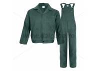 Costum salopeta cu pieptar MEX GREEN 9081V-L
