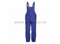 Pantaloni cu pieptar albastru royal TED 90811-AE-42