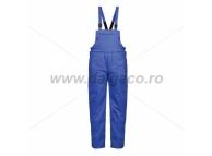 Pantaloni cu pieptar vatuit din tercot MINSK 9051 TC-AE-XXL