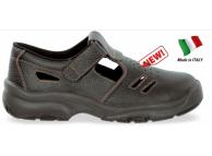 Sandale de protectie cu bombeu metalic LEONE S1 4417-35