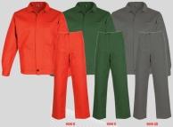 Costum salopeta cu standard bbc 100% GIANI Rosu 9090-R-L