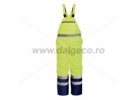 Pantaloni cu pieptar impermeabil de iarna reflectorizant DENMARK 9182-L