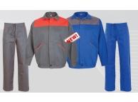 Costum salopeta standard bbc 100% TONI Albastru/GR 9096-AE-L