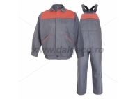 Costum salopeta cu pieptar GINO 9097-XL