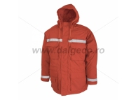 Scurta de iarna cu benzi reflectorizante PRAG RED 9061R-L