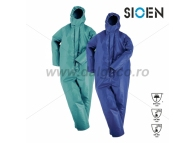 Combinezon impermeabil antichimic SIOSSEN 5967-B-XL