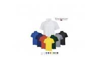 Tricou cu guler bumbac colorat ST3000-GR-XXL