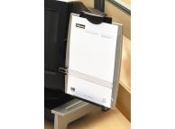 Suport pentru documente atasabil la monitor, pt 100file, cu lupa, Fellowes [Z]
