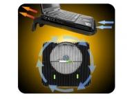 Suport pentru laptop max 17&quot,, cu ventilator Maxi Cool, Fellowes [A]