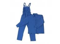 Costum salopeta cu pieptar DOC SCS albastru