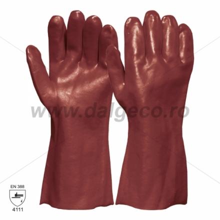 Manusi de protectie VINYL RED