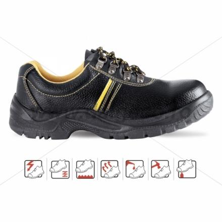 Pantofi de protectie cu bombeu metalic HUBEI S1P 2112 S1-P-35