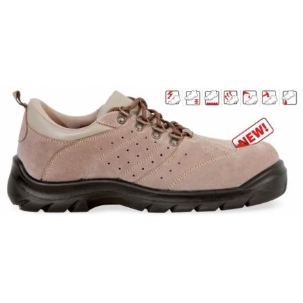 Pantofi de protectie cu bombeu metalic si lamela antiperforatie DAKAR S1P 2014-40