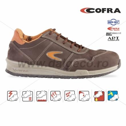 Pantofi de protectie cu bombeu aluminiu YASHIN S3 YASHIN S3-43