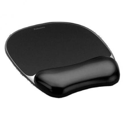 Suport ergonomic mouse pad cu suport gel, Crystals, Fellowes