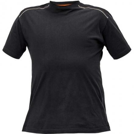 KNOXFIELD tricou gri/galben 03040110A1001