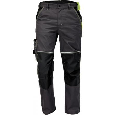 KNOXFIELD pantaloni gri/galben  03020330A1048